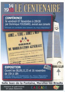 Affiche expo 14-18